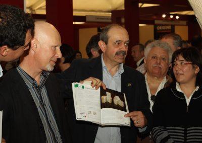 Michele Grassi presenta aroma a Vinitaly