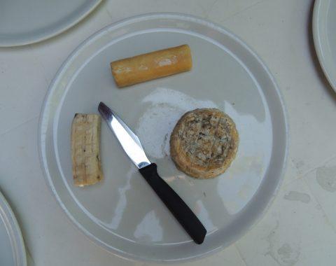 Pecorino e una selezione di formaggi della Valle di Comino