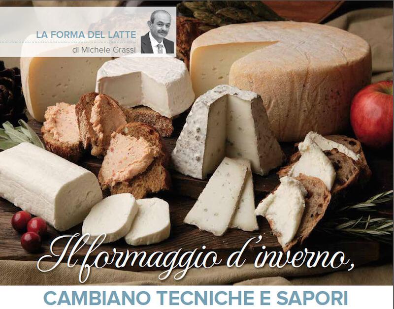 Tecniche e sapori cambiano il formaggio d'inverno