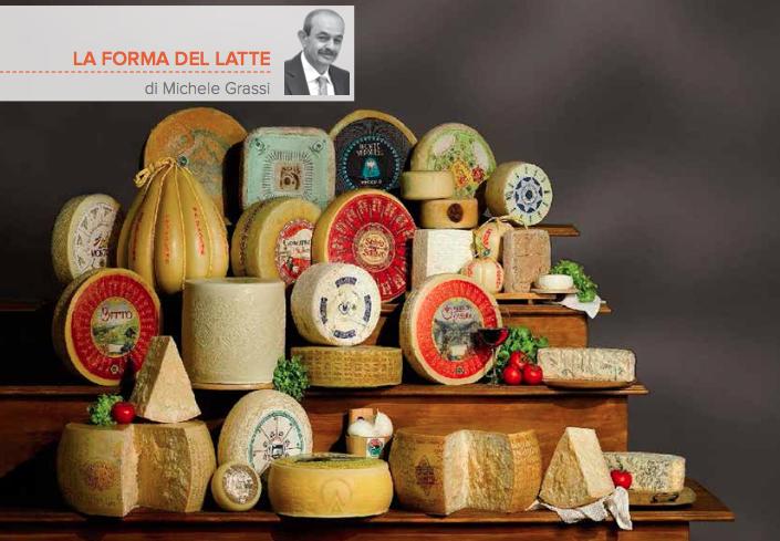 Il carnevale dei formaggi che colora l'Italia